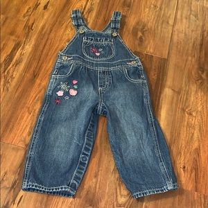 OshKosh B'Gosh overalls toddler 12 month